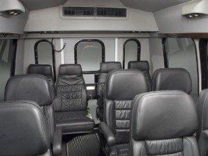 San Diego Chater bus mercedes sprinter