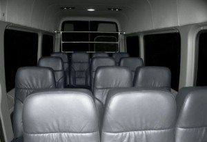 San Diego Chater bus seating
