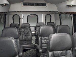 San Diego Shuttle bus 15 passenger